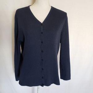 NY & CO ribbed light sweater.  Size L